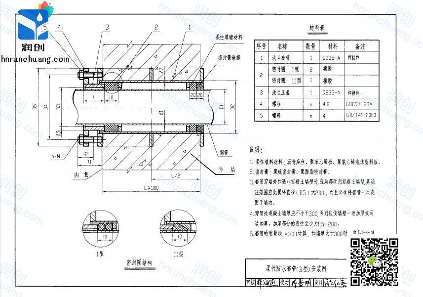柔性防水套管d2是什么意思(图2)